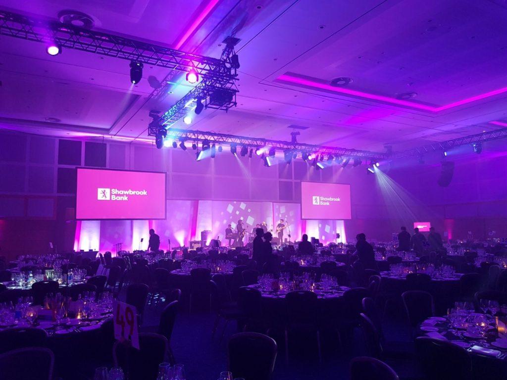 award ceremony audio visual
